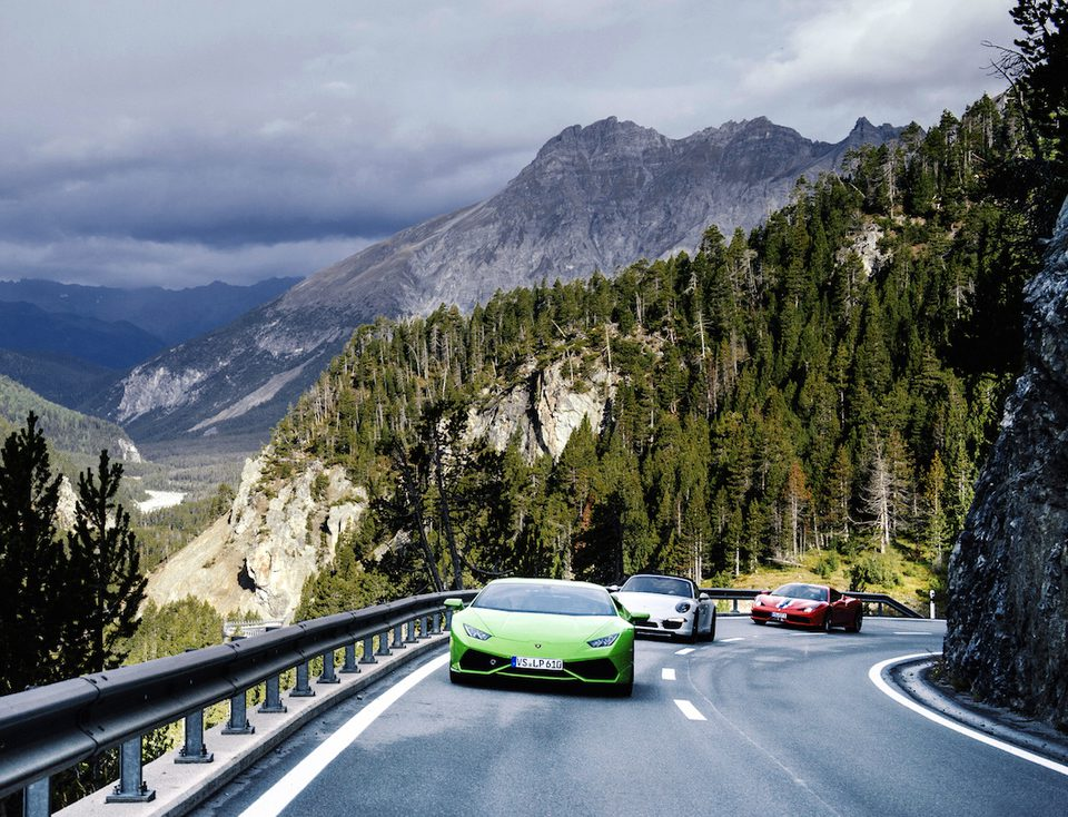 Como to Zurich Supercar European Road Rally
